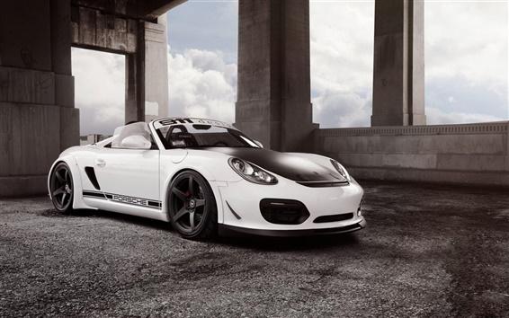 Wallpaper Porsche 911 Spyder supercar