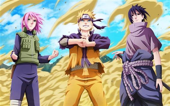 Wallpaper TV anime, Naruto
