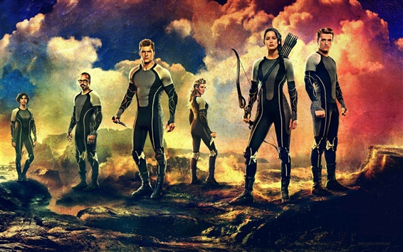 Wallpaper 2013 movie, The Hunger Games: Catching Fire