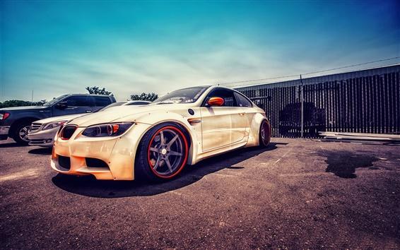 Wallpaper BMW E92 M3 supercar