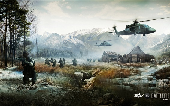 Wallpaper Battlefield 4 play free