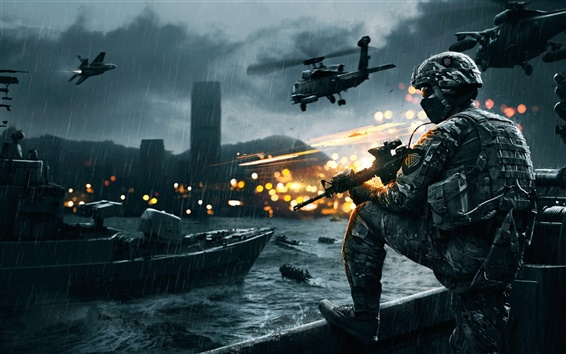 Wallpaper Battlefield army game HD