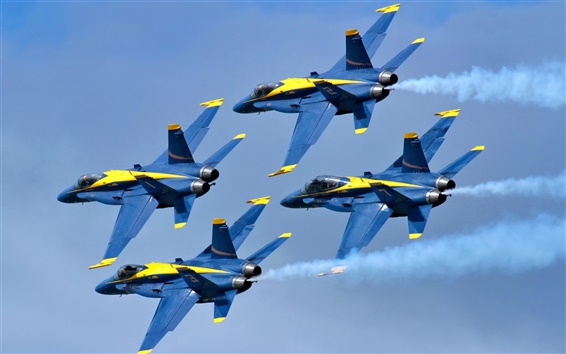 Обои Blue Angels самолета