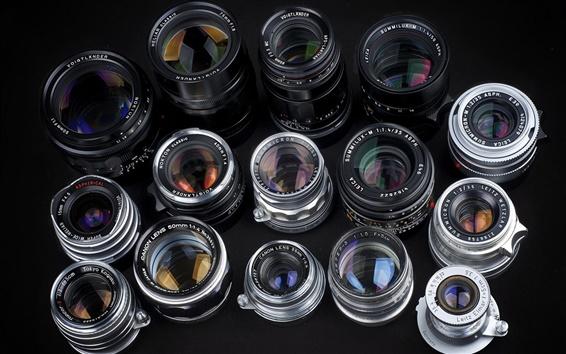 Fond d'écran Caméra lentilles fond