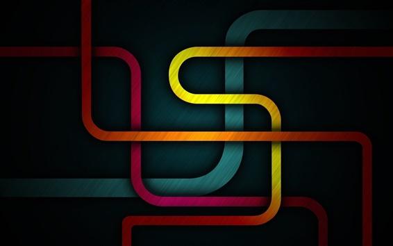 Papéis de Parede Formas abstratas coloridas estrada