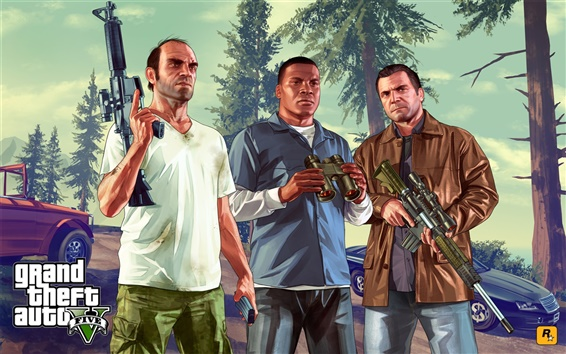 Fondos de pantalla Grand Theft Auto V HD