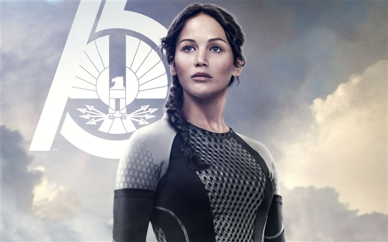 Wallpaper Jennifer Lawrence in The Hunger Games: Catching Fire