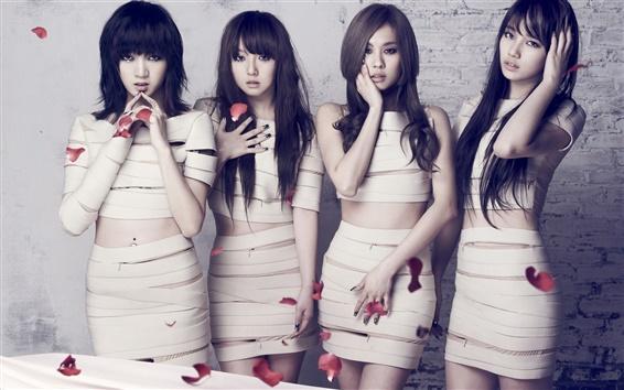 Wallpaper Korea music girls, miss A 01