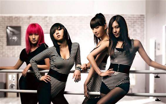 Wallpaper Korea music girls, miss A 02