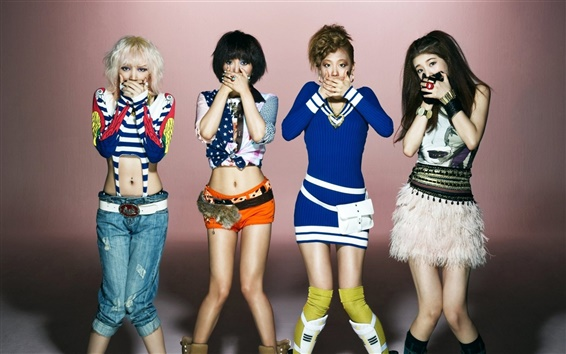 Wallpaper Korea music girls, miss A 03