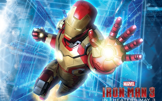 Wallpaper Marvel movie, Iron Man 3