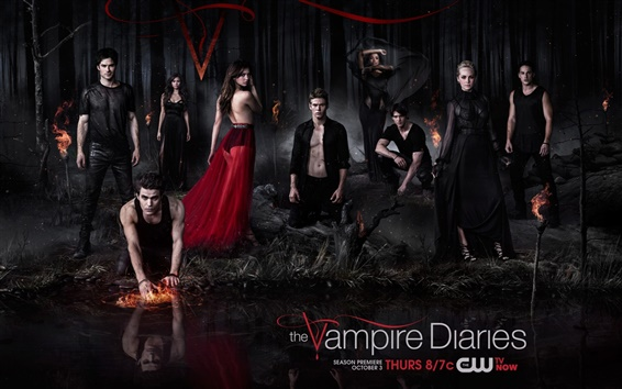 Wallpaper The Vampire Diaries 2013