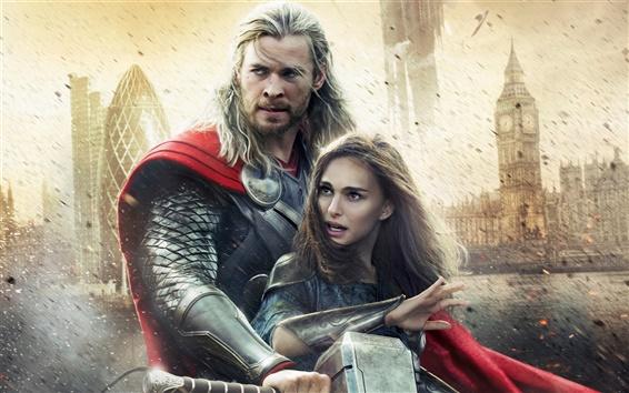 Wallpaper Thor: The Dark World, 2013 movie widescreen