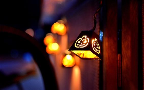 壁紙 夜ハロウィーンライト