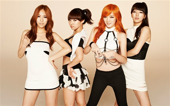 Wallpaper Korea music girls, miss A 04