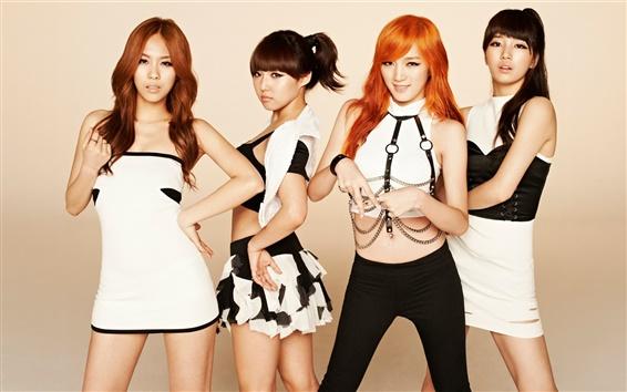 Fond d'écran Corée musique filles, Miss A 04