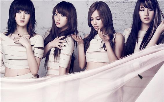 Fondos de pantalla Corea chicas de la música, la señorita A 05