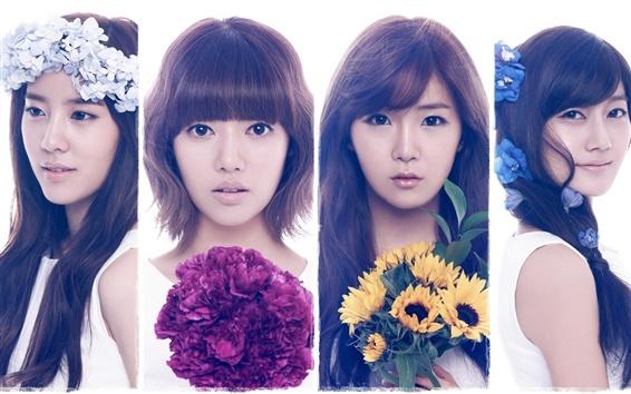 Fondos de pantalla Arco iris de Corea chicas de la música 03