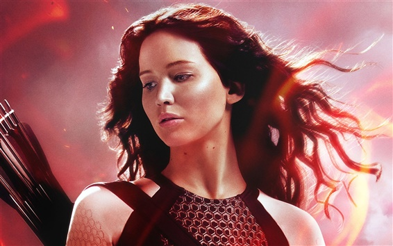 Papéis de Parede The Hunger Games: Catching Fire, Jennifer Lawrence