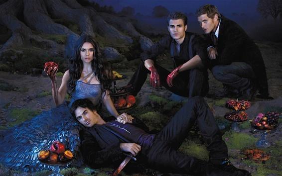 Papéis de Parede The Vampire Diaries 2013 Series TV