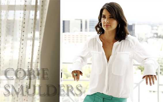 Wallpaper Cobie Smulders 01