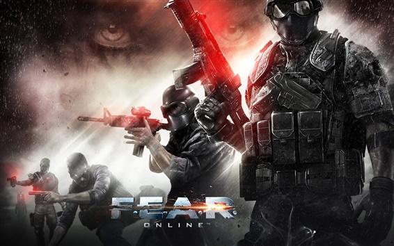 Wallpaper F.E.A.R. Online game