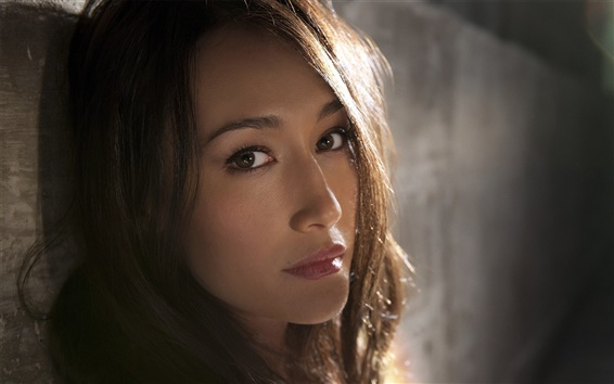 Wallpaper Maggie Q 01