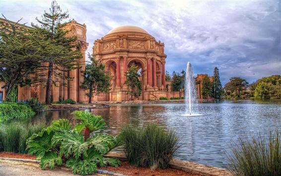 Wallpaper San Francisco, The Palace of Fine Arts