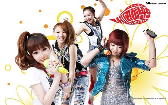 Fondos de pantalla 2NE1 música niñas corea 02
