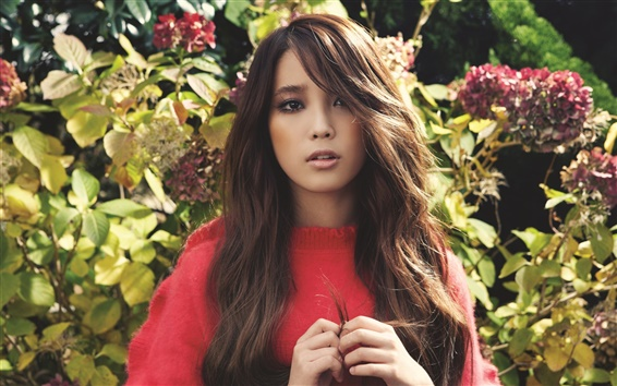 Wallpaper Lee Ji-Eun, korea music girl