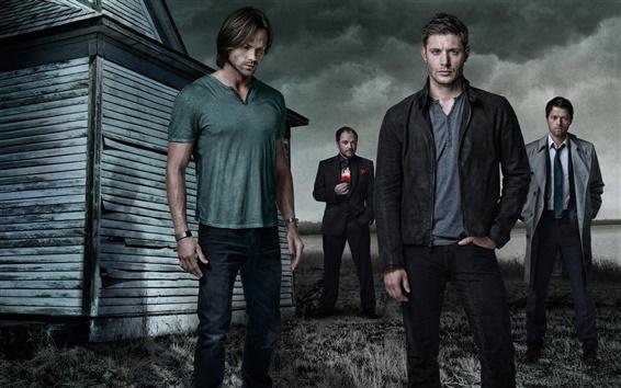 Wallpaper Supernatural, Dean and Sam