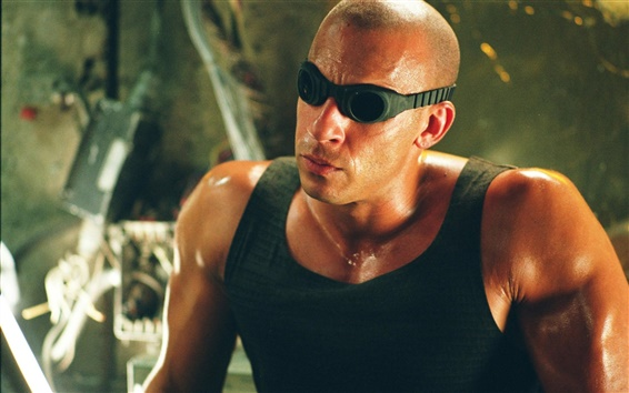 Wallpaper Vin Diesel in The Chronicles of Riddick