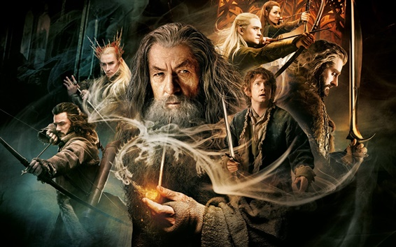 Wallpaper 2014 movie, The Hobbit: The Desolation of Smaug