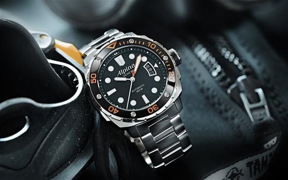 Обои Alpina часы