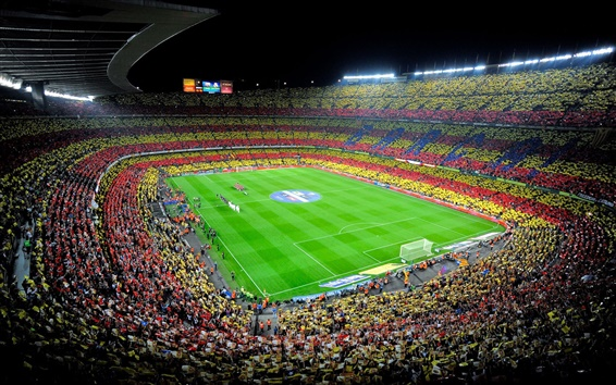 Wallpaper Camp Nou, Spain, FC Barcelona, Sports, Football