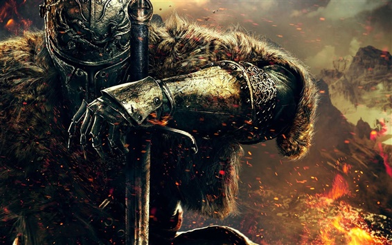 Wallpaper Dark Souls 2 HD