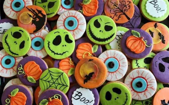 Обои Хэллоуин печенье