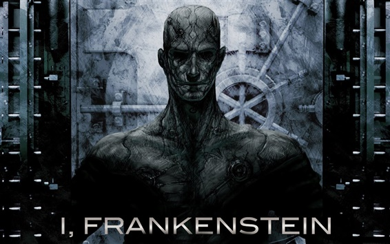 Wallpaper I, Frankenstein