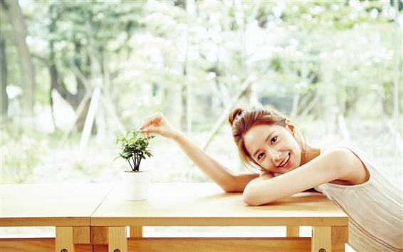 Fond d'écran Corée, Girls Generation, Yoona 06
