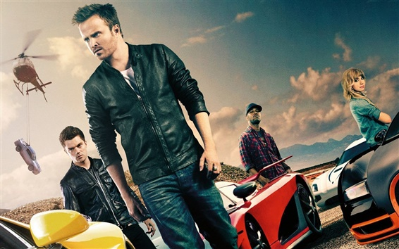 Wallpaper Need for Speed movie