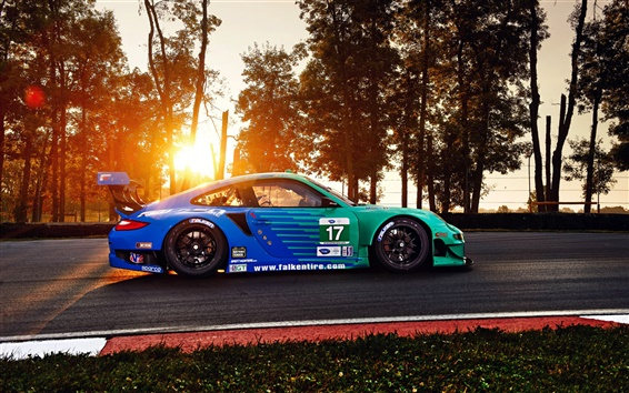 Wallpaper Porsche 911 GT3 RSR sports car
