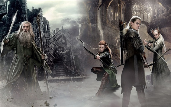 Wallpaper The Hobbit: The Desolation of Smaug, movie 2014