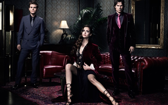 Wallpaper The Vampire Diaries, TV series HD