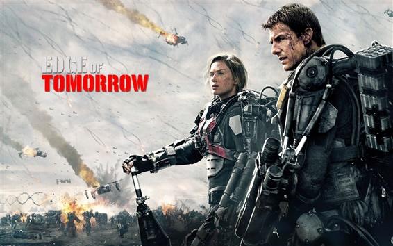 Wallpaper Tom Cruise in Edge of Tomorrow