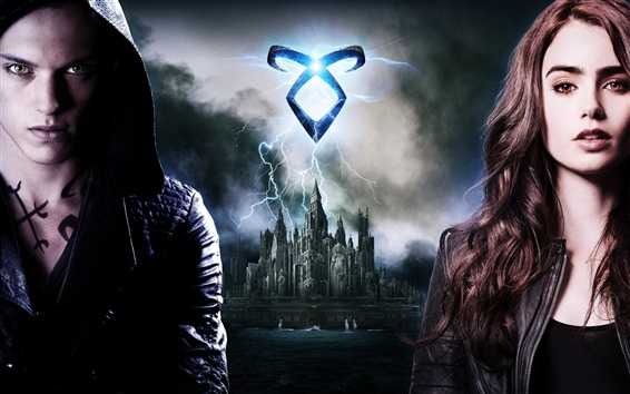 Wallpaper 2013 The Mortal Instruments: City of Bones