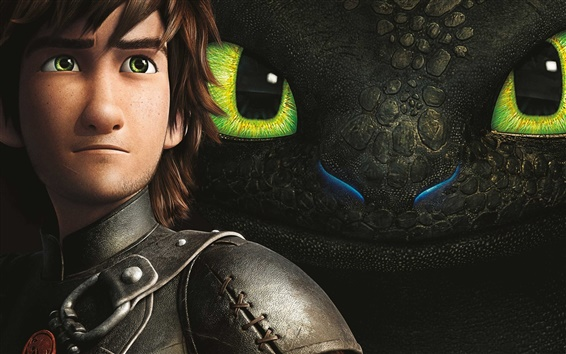 Wallpaper 2014 How to Train Your Dragon 2