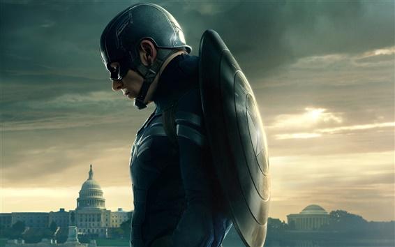 Fondos de pantalla 2014 película, Capitán América: El Soldado de Invierno