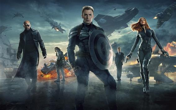 Wallpaper Captain America 2