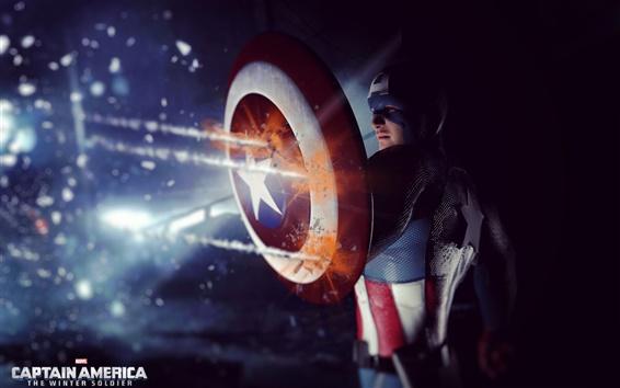 Wallpaper Captain America: The Winter Soldier 2014 HD