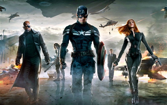 Papéis de Parede Captain America: The Winter Soldier HD